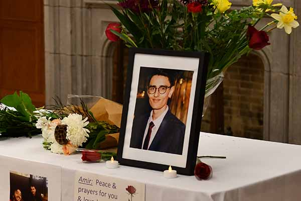 Amir Moradi, a student in the Faculty of Arts and Science, died in the plane crash in Iran on Wednesday, Jan. 8. (Communications Staff)
