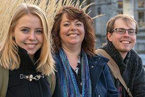 Holly Picard - online student - with her kids