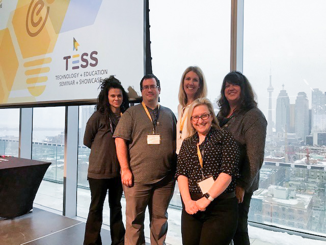 Arts and Science Online Team at TESS