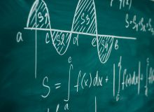 differential and integral calculus on chalkboard