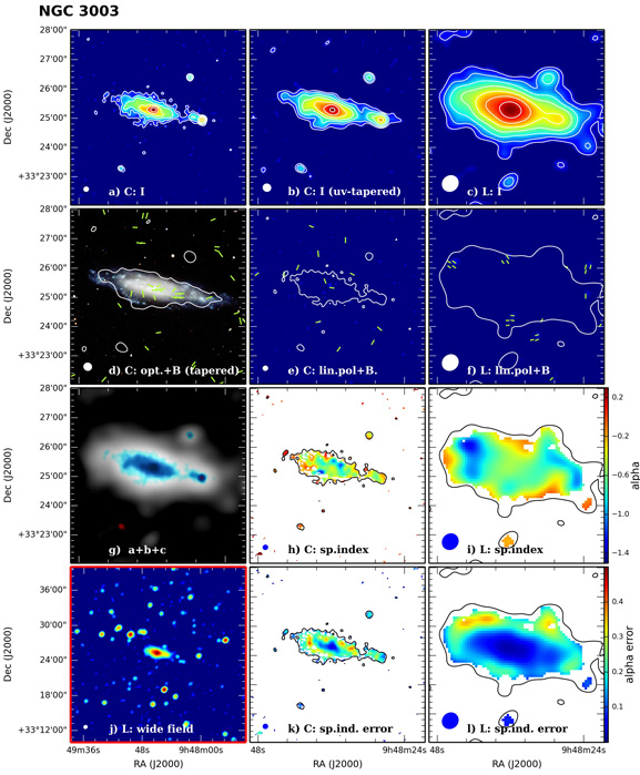 Panel image of NGC3003 from D configuration data release I (Wiegert et al. 2015)