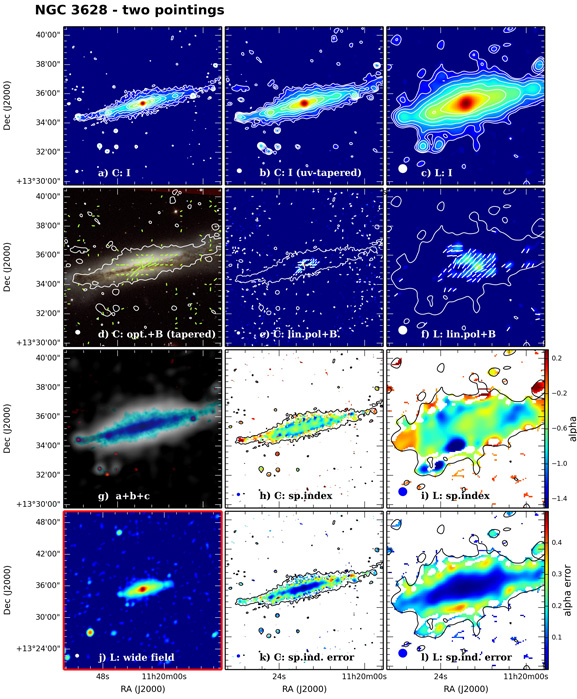 Panel image of NGC3628 from D configuration data release I (Wiegert et al. 2015)