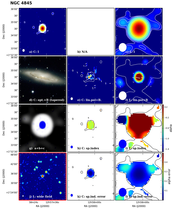 Panel image of NGC4845 from D configuration data release I (Wiegert et al. 2015)