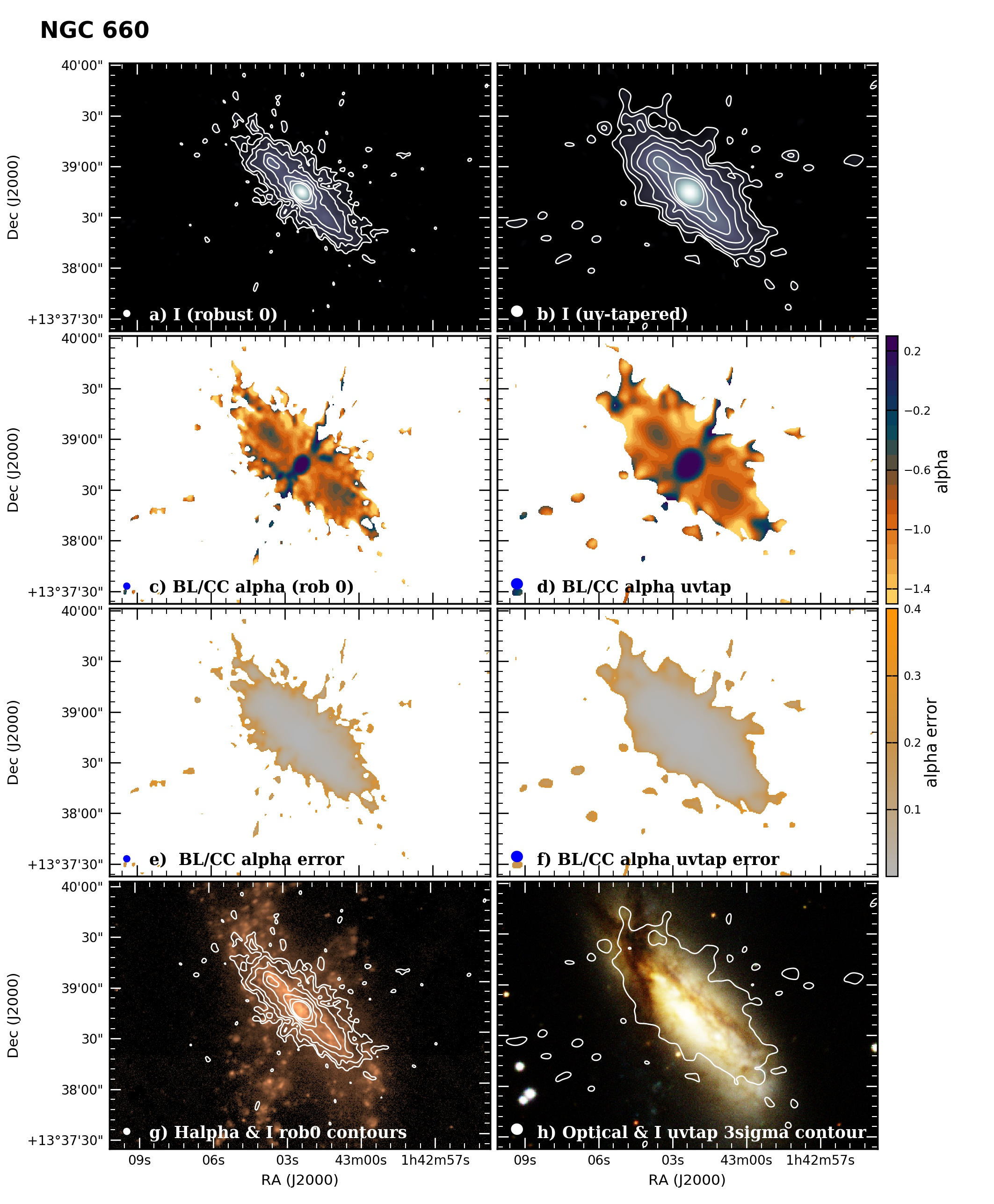 Panel image of NGC660 from B configuration data release III (Irwin et al. 2019)