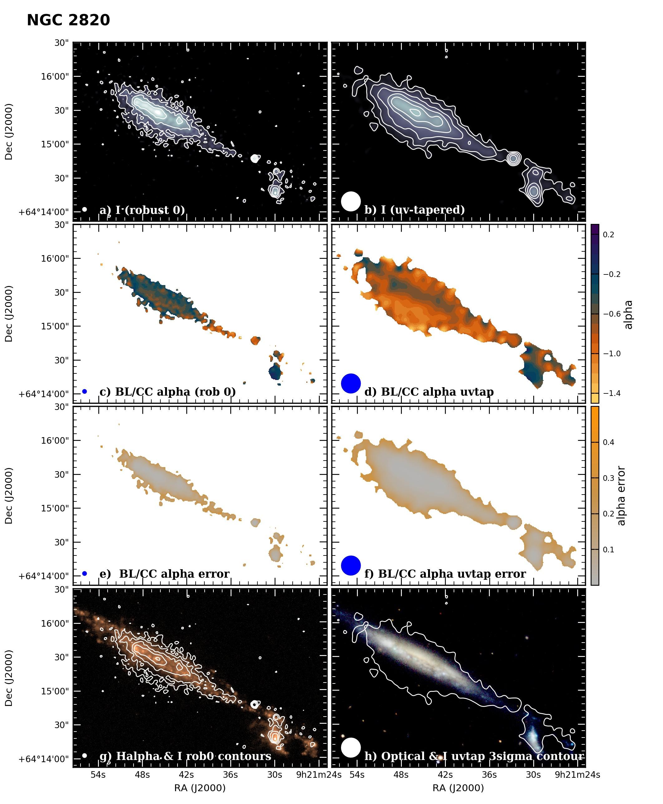 Panel image of NGC2820 from B configuration data release III (Irwin et al. 2019)