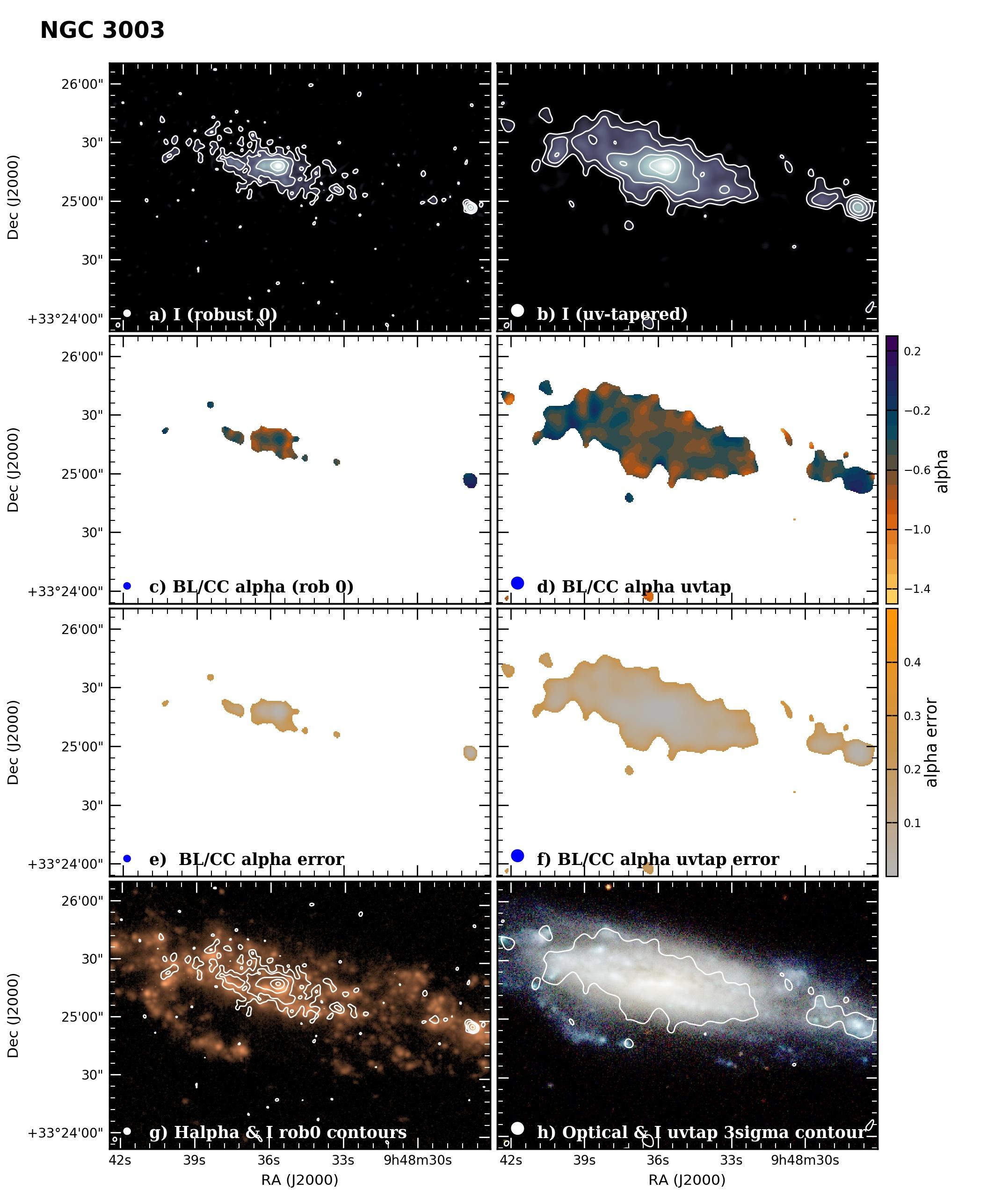 Panel image of NGC3003 from B configuration data release III (Irwin et al. 2019)