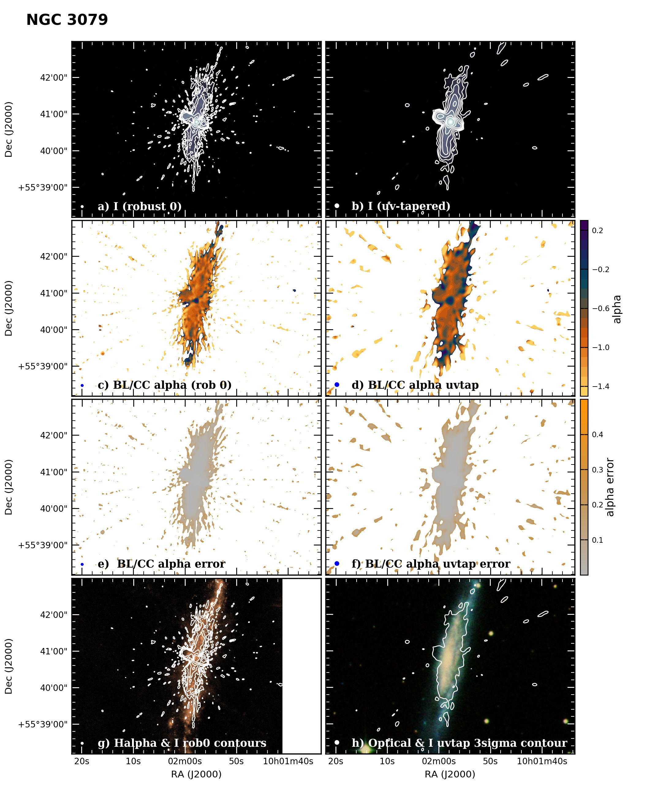 Panel image of NGC3079 from B configuration data release III (Irwin et al. 2019)