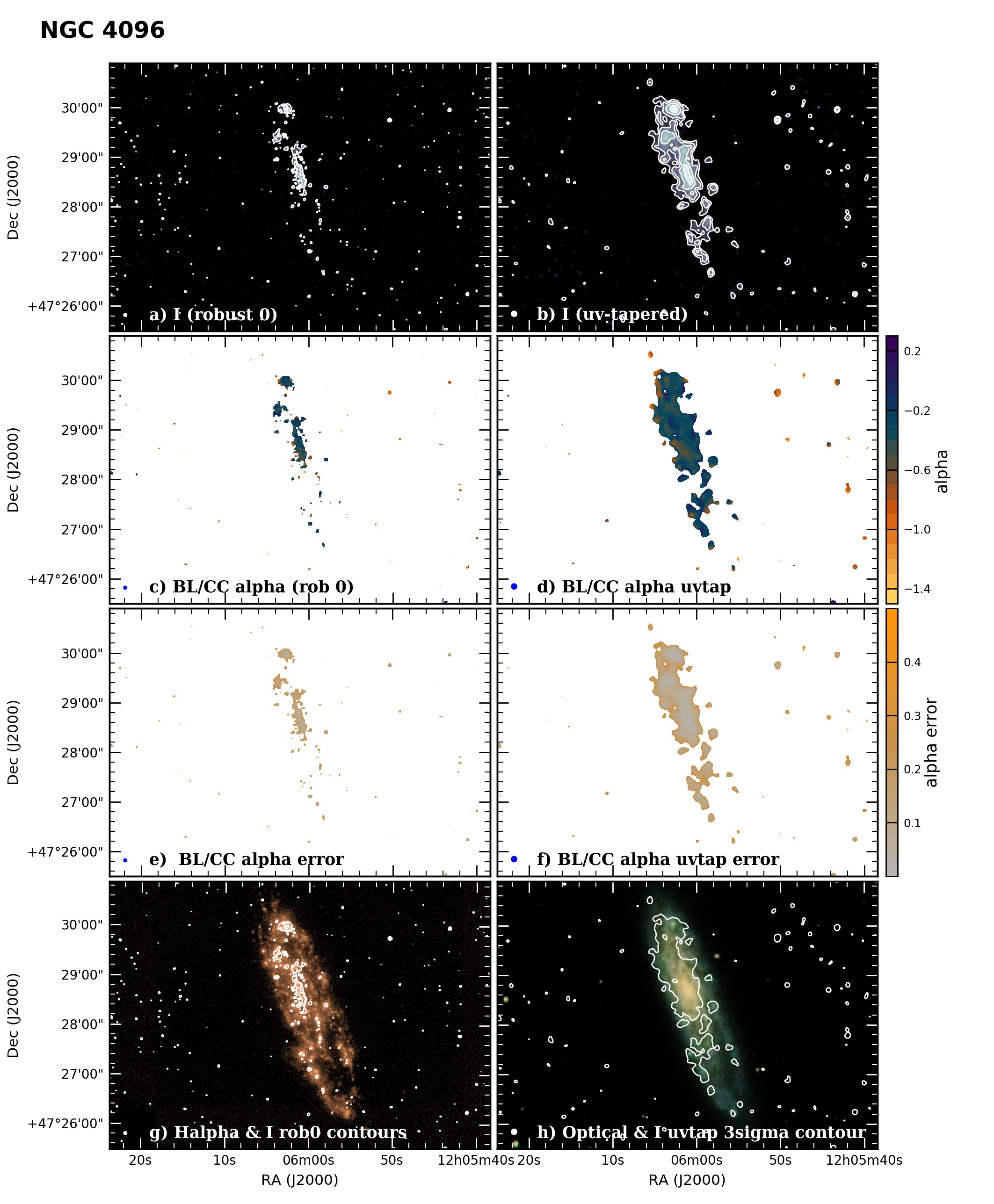 Panel image of NGC4096 from B configuration data release III (Irwin et al. 2019)
