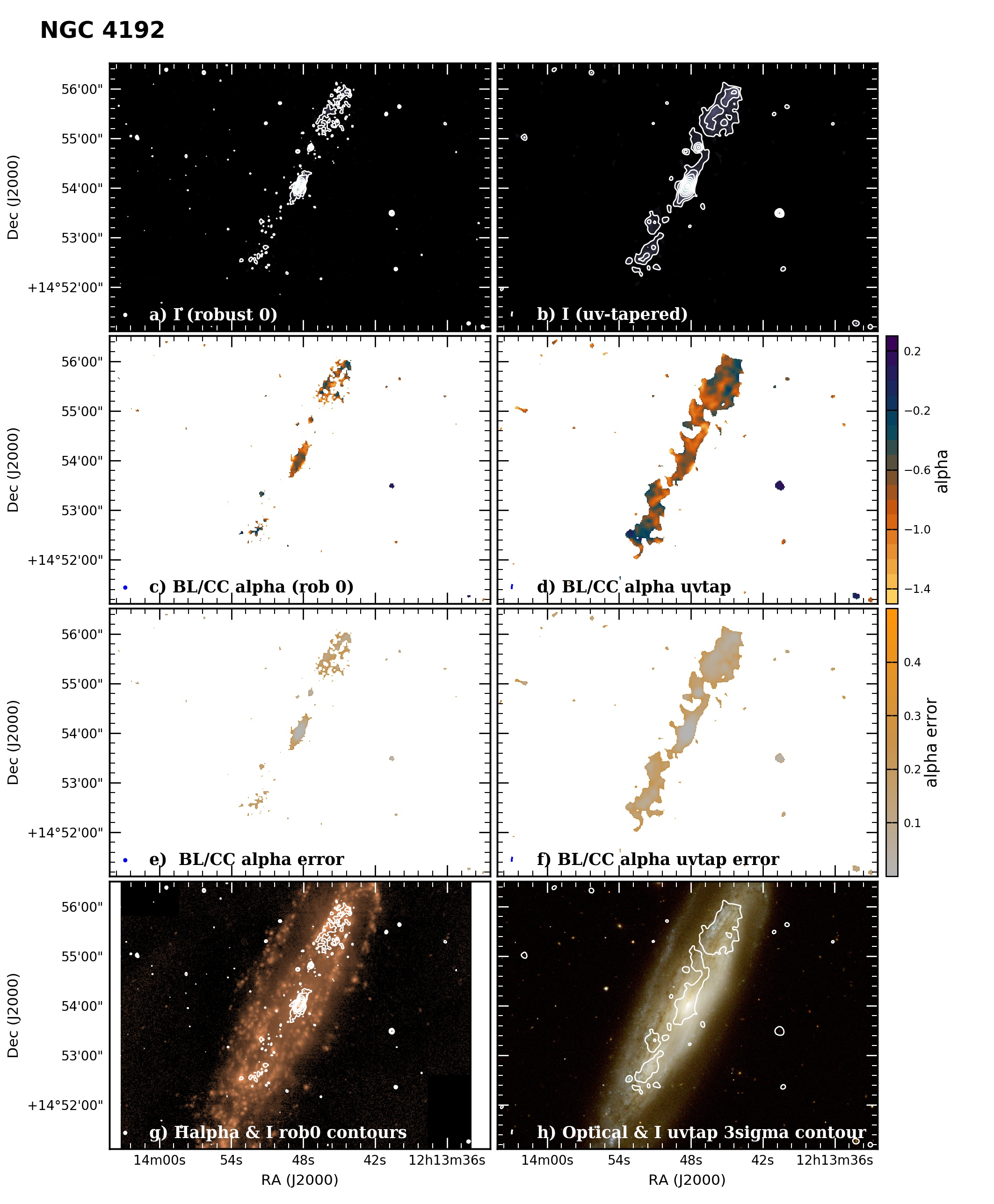Panel image of NGC4192 from B configuration data release III (Irwin et al. 2019)