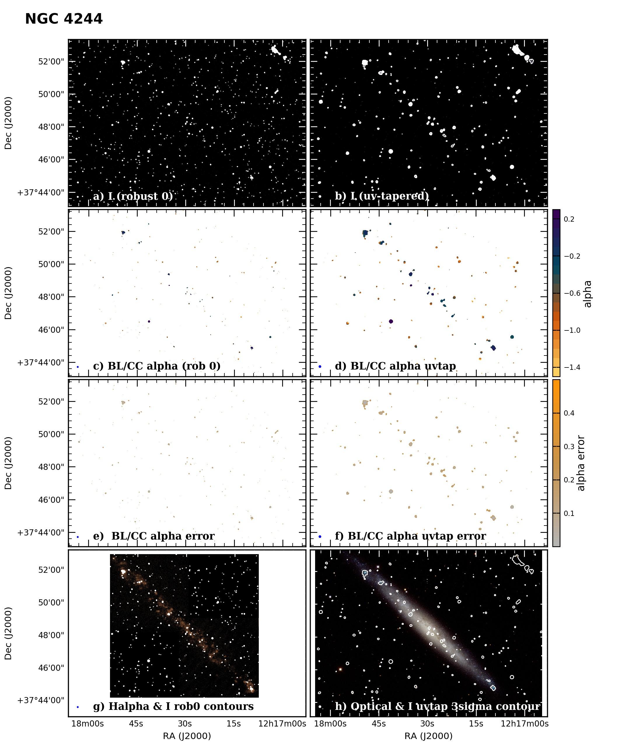 Panel image of NGC4244 from B configuration data release III (Irwin et al. 2019)