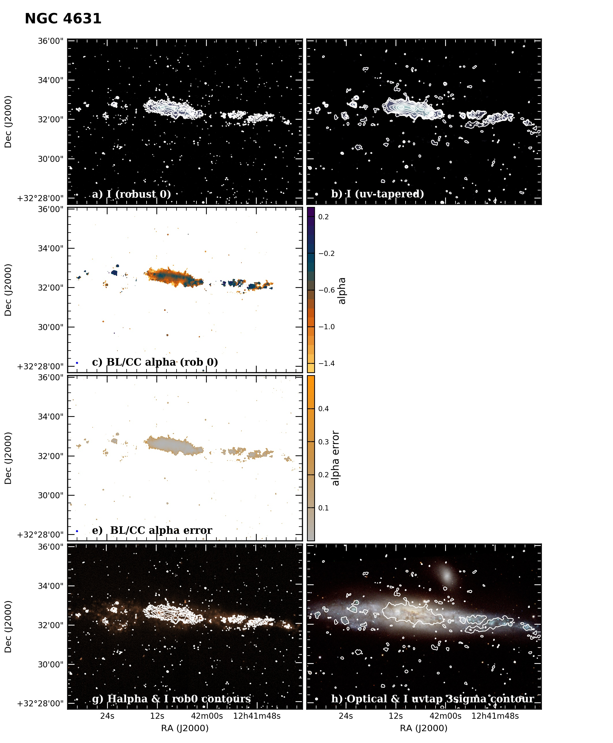 Panel image of NGC4631 from B configuration data release III (Irwin et al. 2019)