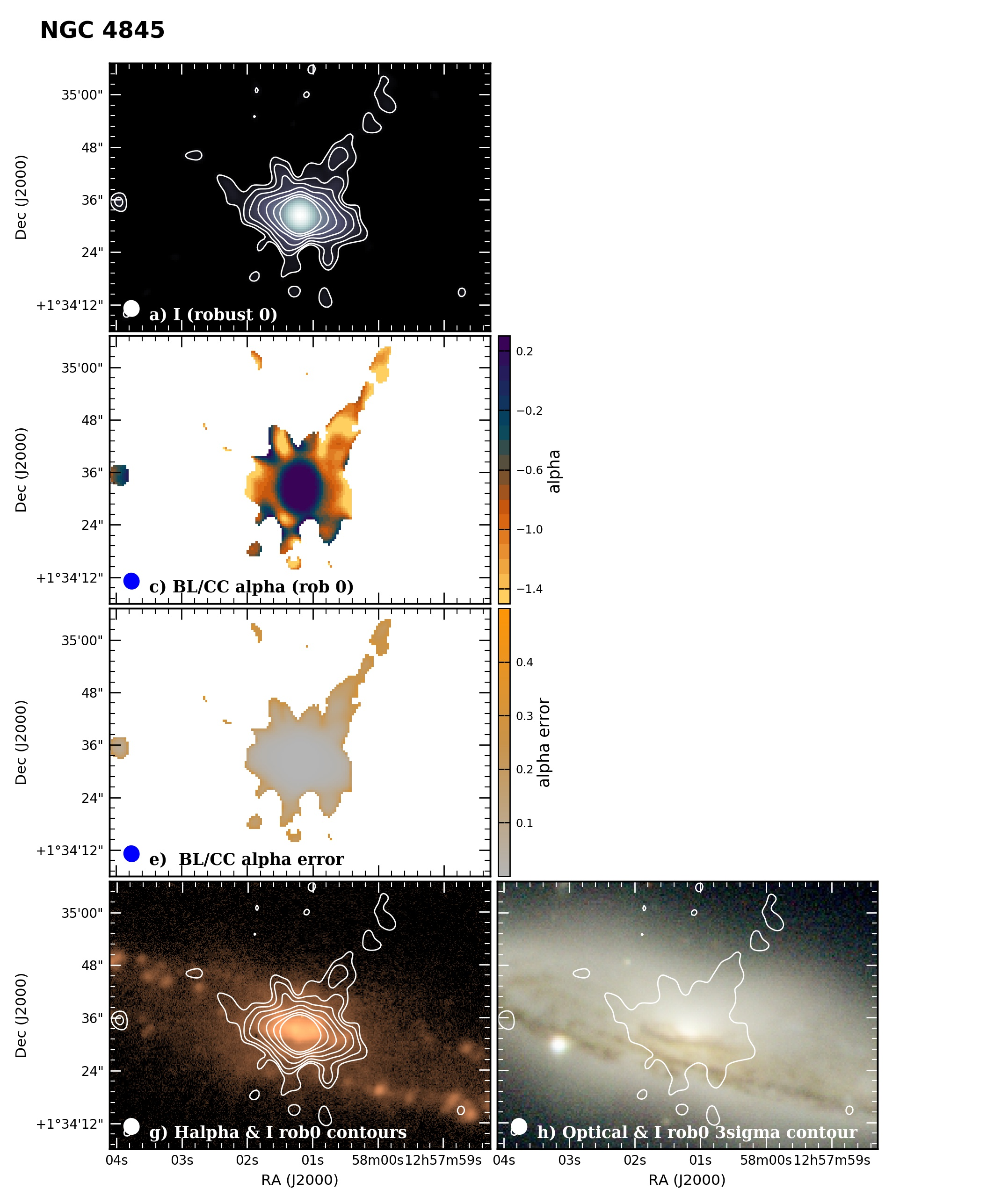 Panel image of NGC4845 from B configuration data release III (Irwin et al. 2019)