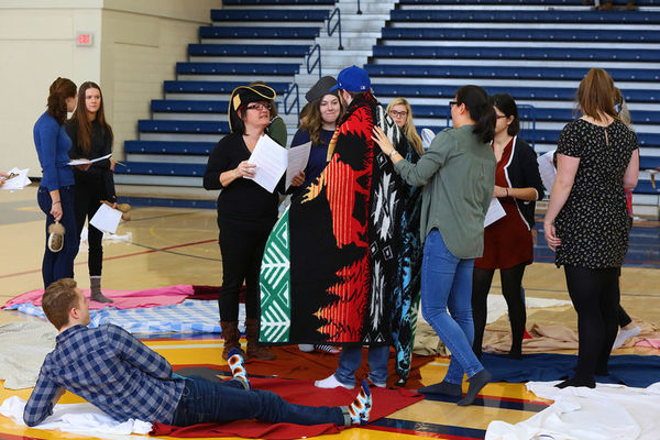 Native Students Association KAIROS Blanket Exercise