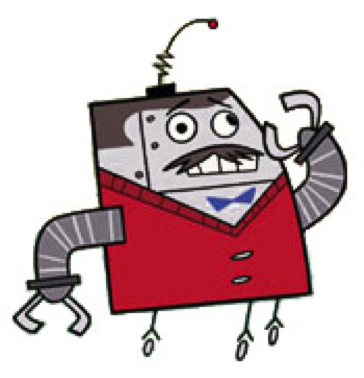 Clone High's Mr. Butlertron