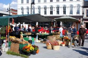 Meandering around the market