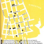 A graphic view of downtown Kingston