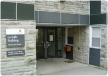 Disability Services is located in the LaSalle building (same one as health and counselling services)