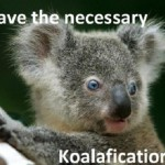 """Most cover letter humour is about job cover letters, rather than journal submission cover letters, so just replace """"I"""" with """"my paper"""" and """"koalafications"""" with """"koala the aims of your journal"""""""
