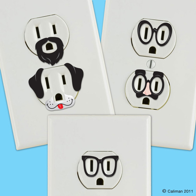 Creative outlet stickers by Matt Caliman http://fab.com/product/creative-outlet-stickers-39848