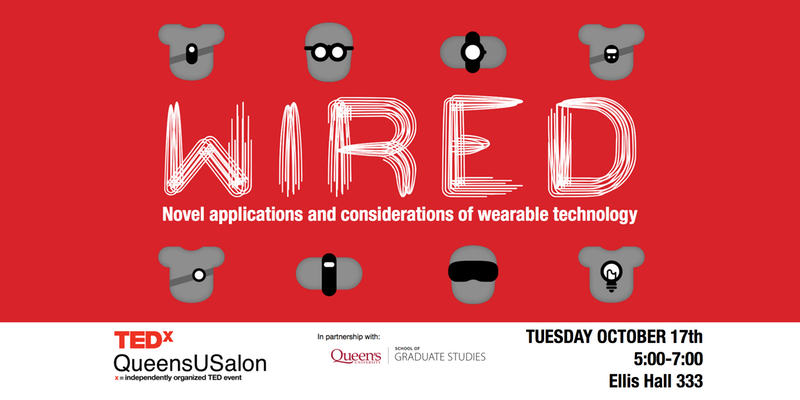 TEDxQueensUSalon Wearable Texhnology