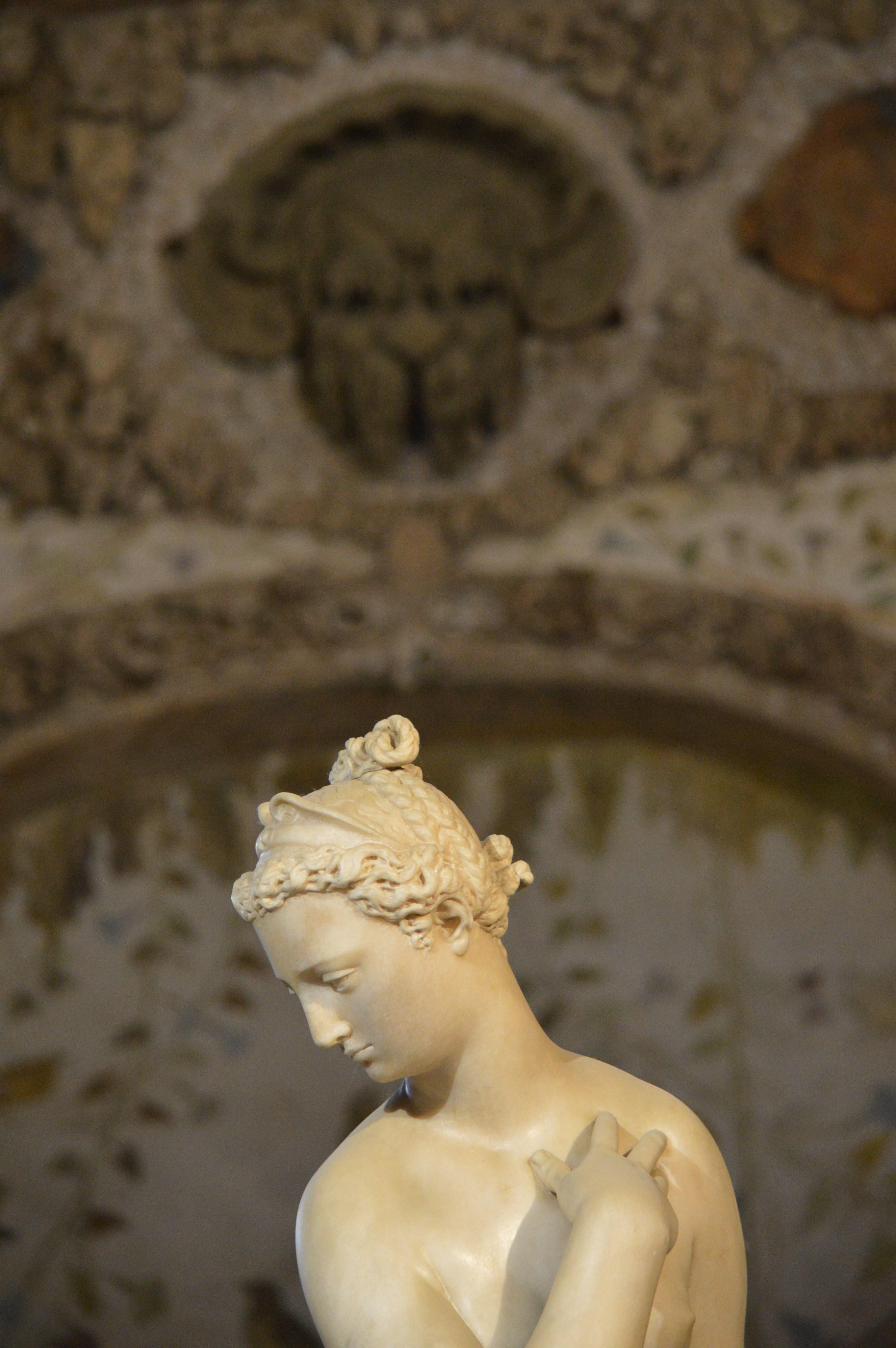 Photo from Heather Merla's research from the Grotta Grande, Boboli Gardens