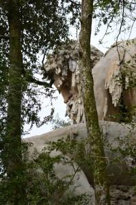 Photo from Heather Merla's field research of Giambologna, Appennino, Villa di Pratolino