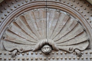 Photo courtesy of Heather Merla. Bernardo Buontaleni, Portal of the Casino di San Marco, Florence