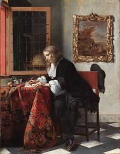 Man_Writing_a_Letter_by_Gabriël_Metsu