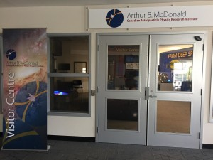 Arthur B. McDonald Canadian Astroparticle Physics Research Institute Visitor Centre