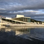 The Oslo Opera House was completed by Snøhetta architects. Snøohetta also constructed the Isabel Bader Centre in Kingston, ON