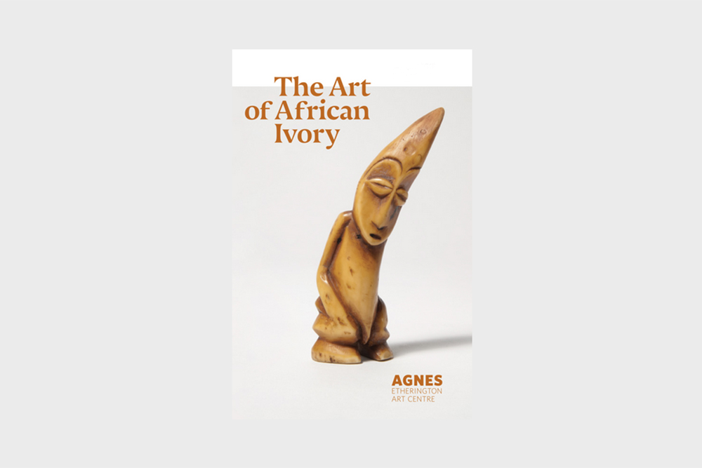 African Ivory exhibit brochure cover