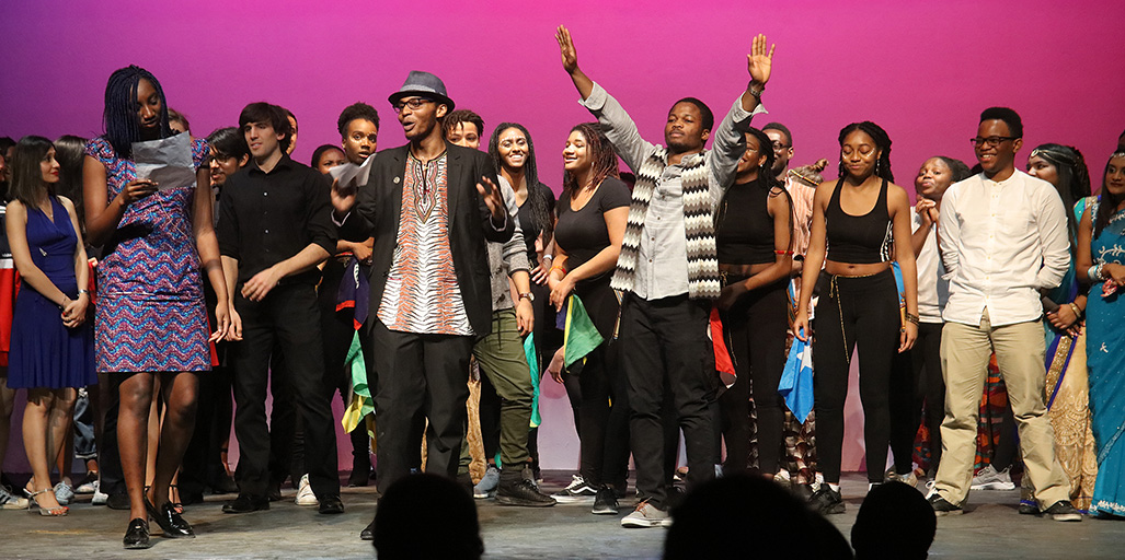 A variety performances by clubs and individuals on campus and in the Kingston community were showcased at the annual ACSA Culture Show in 2017. (Photo by Bernard Clark)