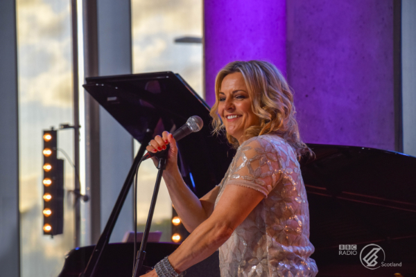 Jazz vocalist Claire Martin (Photo by: BBC Radio Scotland)