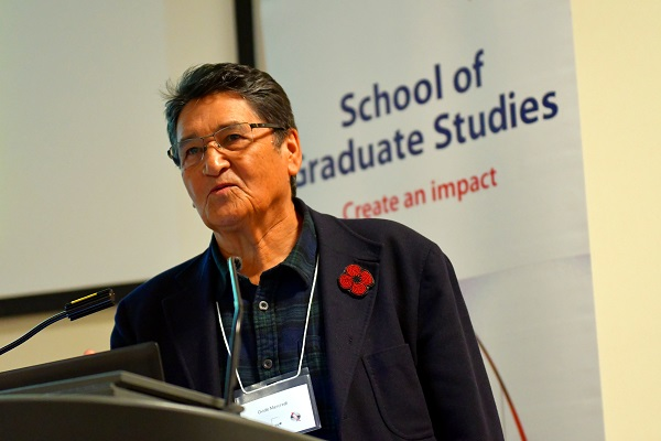 [Queen's University Gazette Ovide Mercredi Assembly of First Nations]