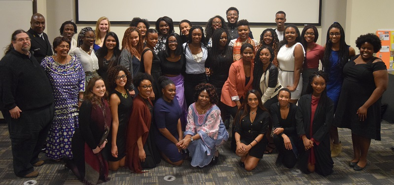 Organizers, speakers, and some attendees of Black History Month 2017. (Supplied Photo)