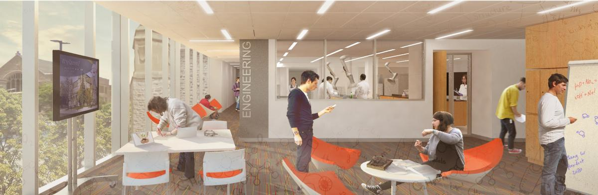 The Beaty Water Research Centre will be located on the third floor, featuring labs and meeting space. (Supplied Photo)