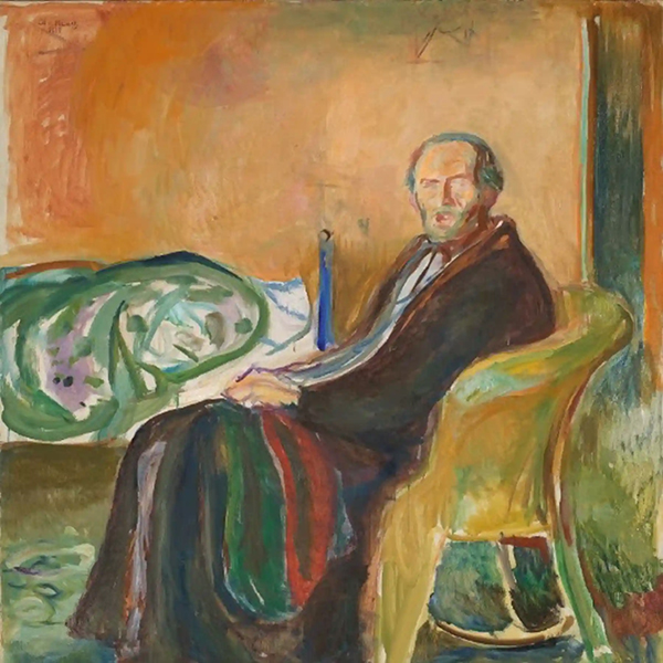 Munch Self-Portrait