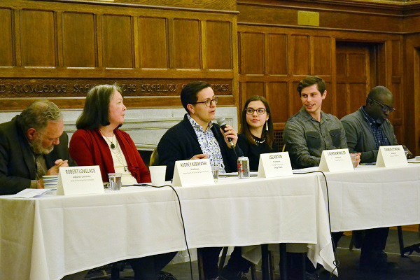 Queen's Reads held a well-attended discussion panel in November about The Break in November, featuring professors and students providing their perspectives on the book. (Supplied Photo)