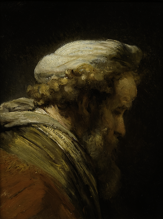 "Rembrandt's ""Head of a Man in Turban"