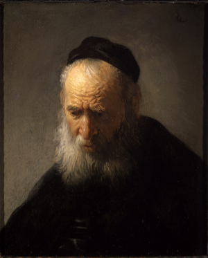 "Rembrandt's ""Head of an Old Man in a Cap"
