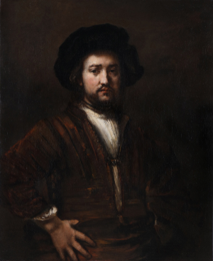 "Rembrandt's ""Man with Arms Akimbo"""