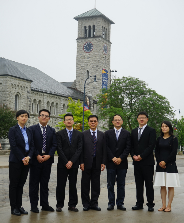 Members of Shanghai's Foreign Affairs Office visiting Queen's.