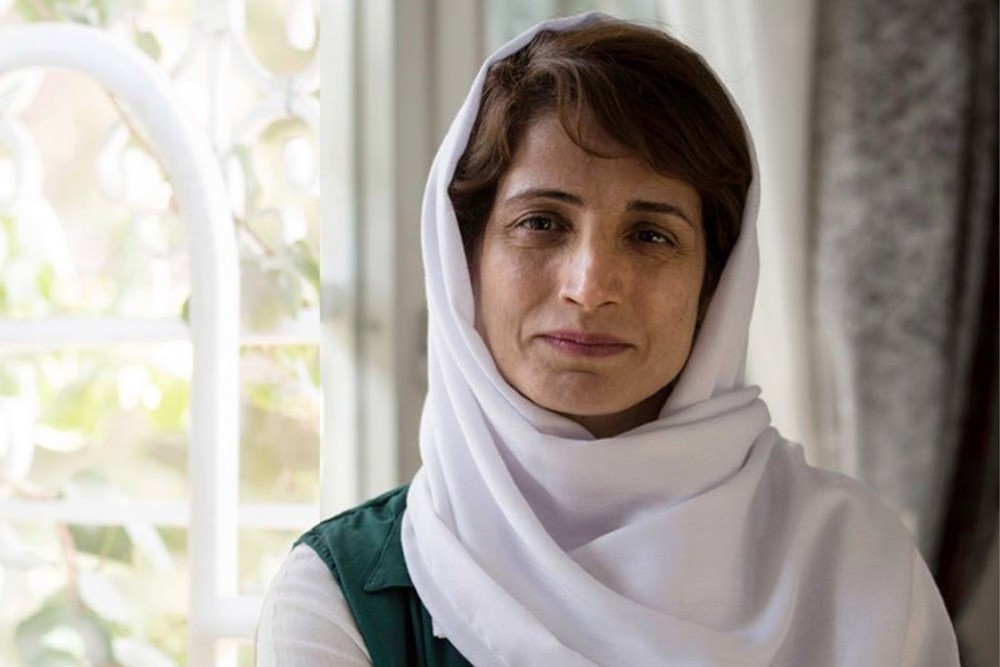 Photograph of Nasrin Sotoudeh