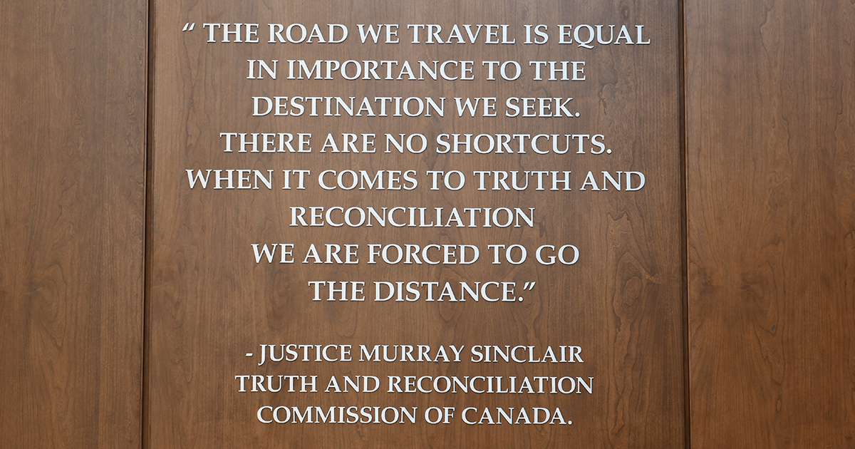 Murray Sinclair quote