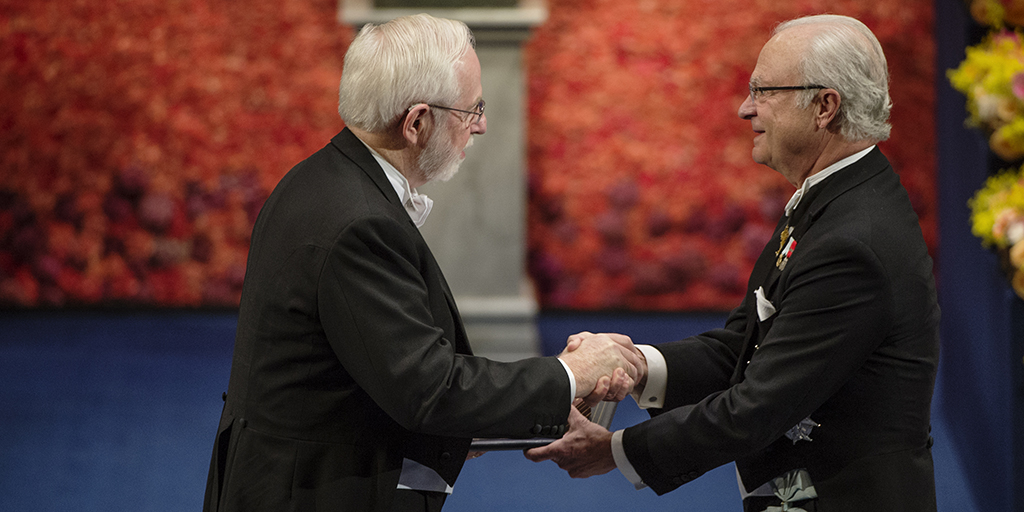 [Art McDonald receives Nobel Prize]