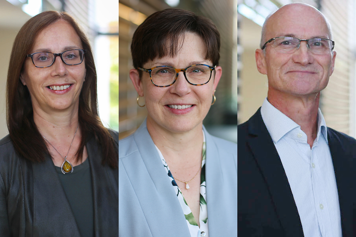 Queen's researchers Janet Dancey, Marcia Finlayson, and Graeme Smith have been inducted into the Canadian Academy of Health Sciences (CAHS) Fellowship