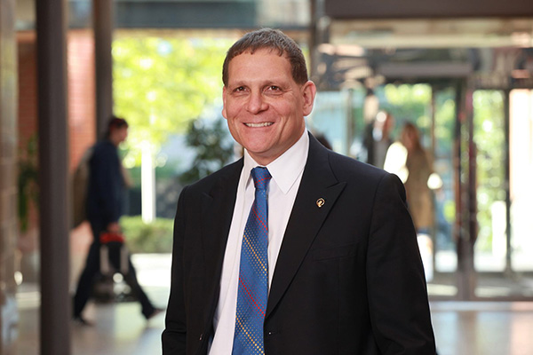 'Principal and Vice-Chancellor Daniel Woolf""