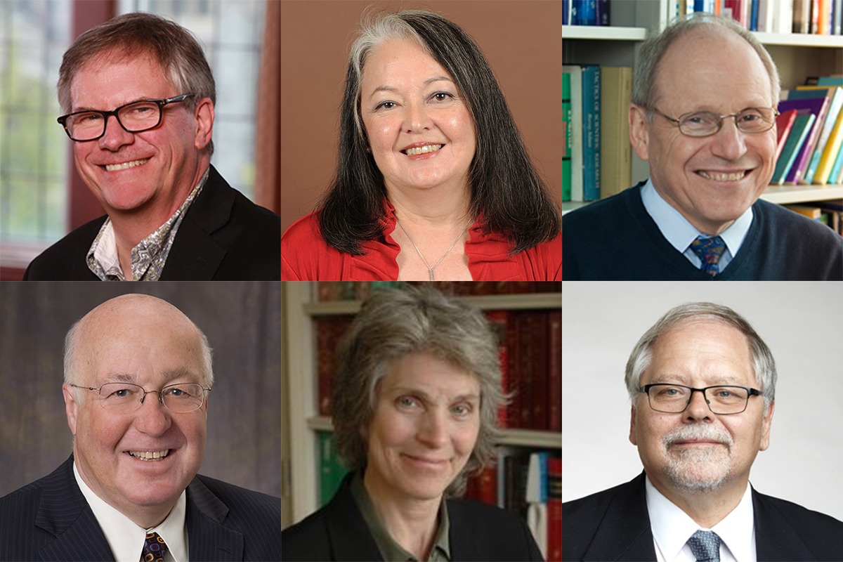 Six faculty members receive Queen's University's top research-related honour