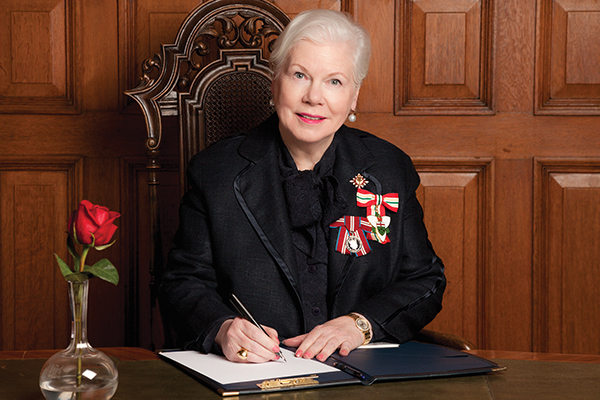 [Lieutenant Governor of Ontario Elizabeth Dowdeswell]