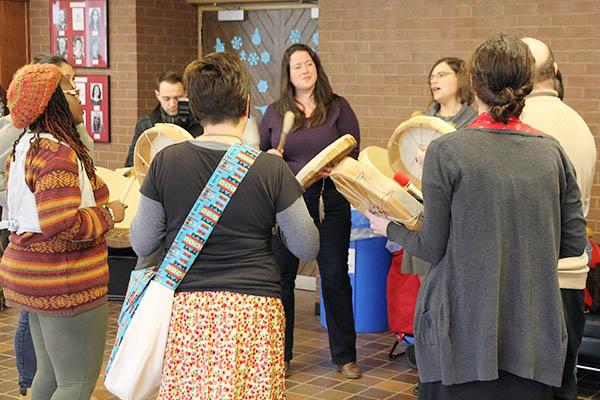 Drum Circle for Truth and Reconciliation Commission